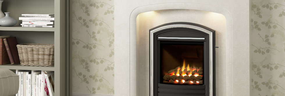 Elgin & Hall Balanced Flue Cast Gas Fire