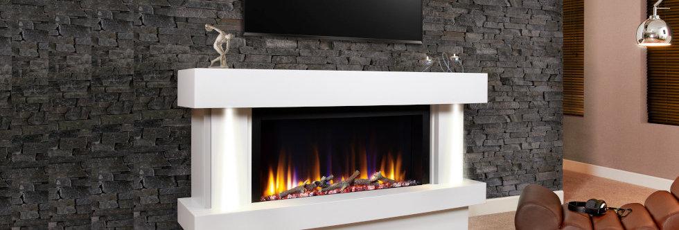 Celsi Ultiflame Orbital 800 Electric Fireplace Suite
