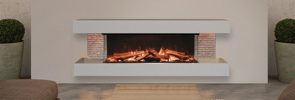 Evonicfires Bergen Electric Fireplace Suite