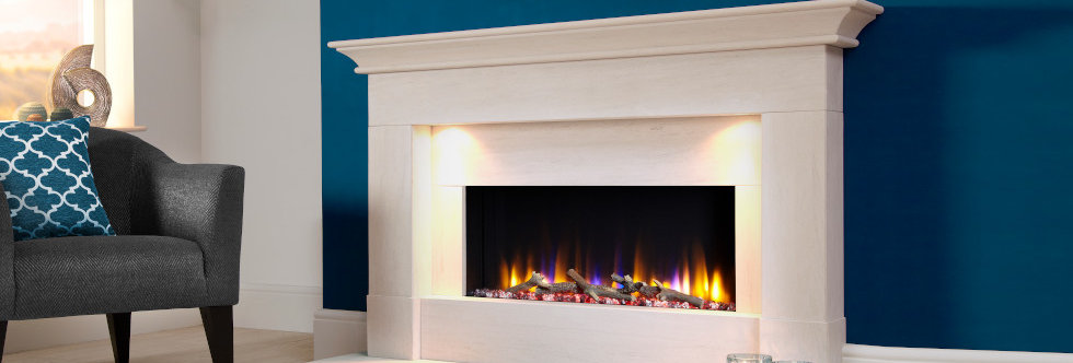 Celsi Ultiflame Parada Elite Electric Fireplace Suite