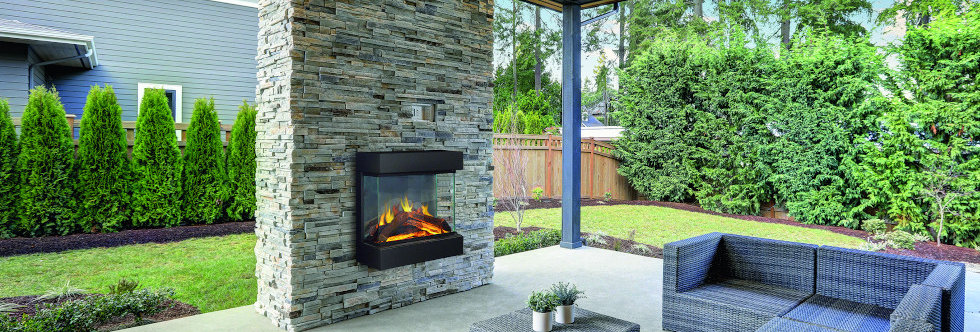 Evonicfires Midori Electric Fireplace Suite