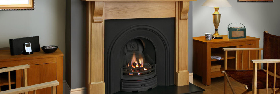 FDC Bedford Wooden Mantel