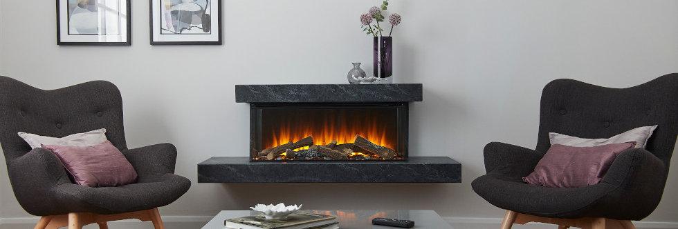 British Fires Brockenhurst Electric Fireplace Suite