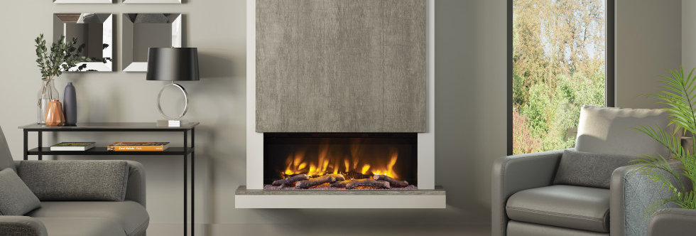 Pryzm Camino Electric Fireplace Suite