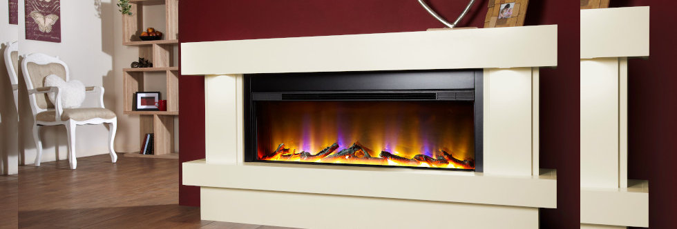Celsi Electriflame VR Orbital 1000 Electric Fireplace Suite