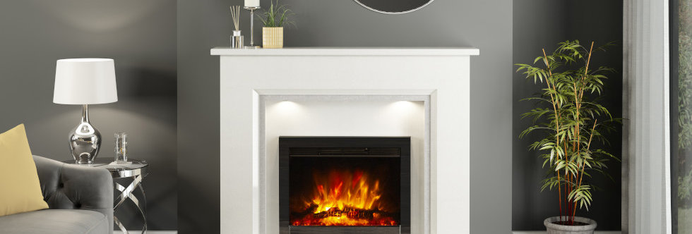 "Elgin & Hall 22"" Beam Electric Fire"
