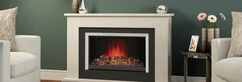 Elgin & Hall Wellsford Electric Fireplace Suite