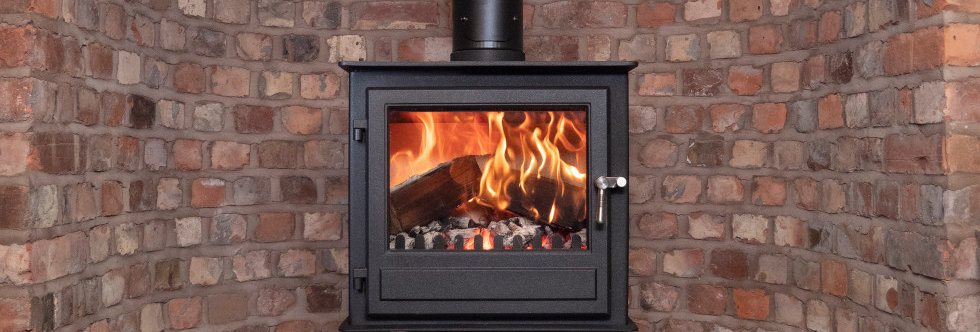 Clock Blithfield 8 Solid-Fuel Stove