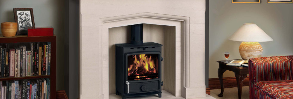 FDC5 Wide ECO Solid-Fuel Stove