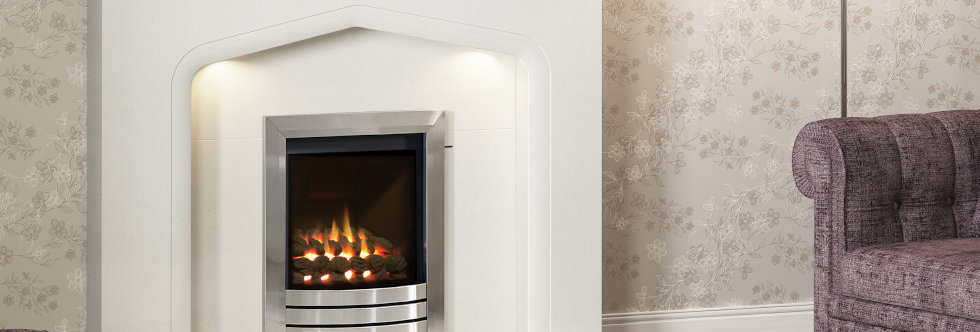 Elgin & Hall Balanced Flue Complete Front Gas Fire