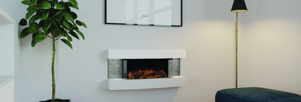 Evonicfires Empire 2 Electric Fireplace Suite