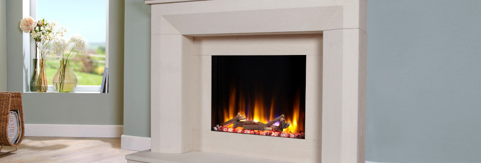 Celsi Ultiflame Angelo Electric Fireplace Suite