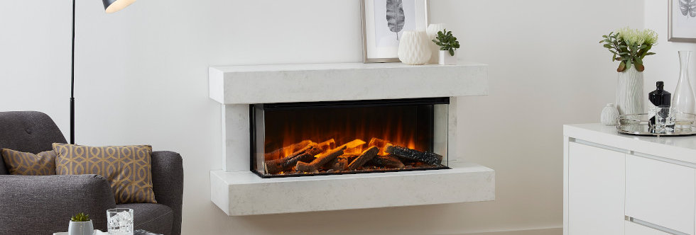 British Fires Winchester Electric Fireplace Suite