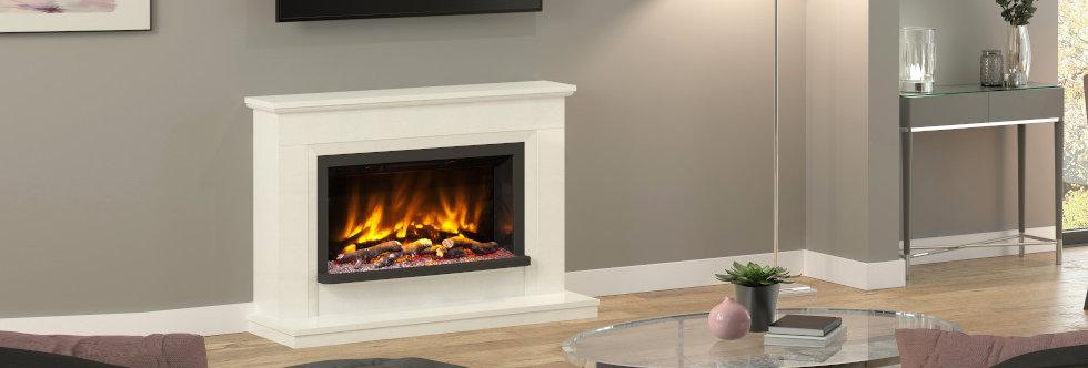 Pryzm Vistus Electric Fireplace Suite
