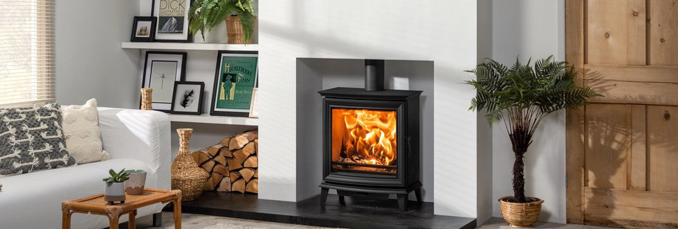 Stovax Chesterfield 5 Wide Solid-Fuel Stove