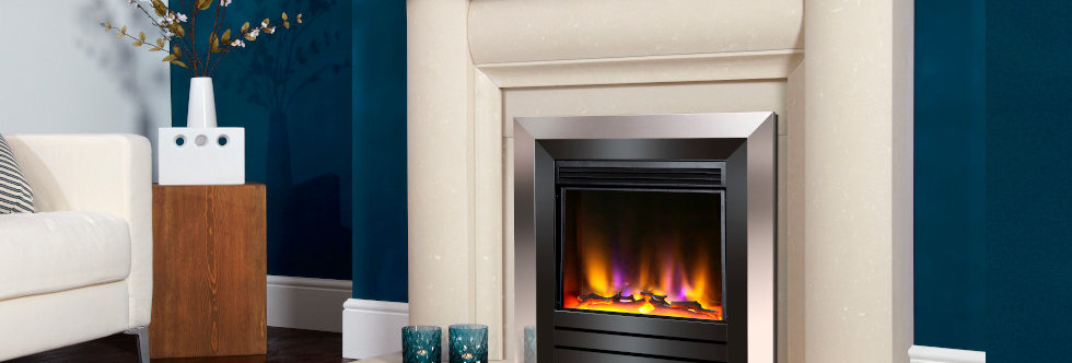 Celsi Electriflame Acero Electric Fire