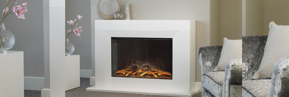 Evonicfires Kibo Electric Fireplace Suite