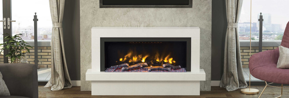 Pryzm Impero Electric Fireplace Suite