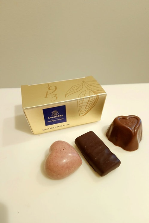 Ballotin 3 Chocolats  Bo�te Or