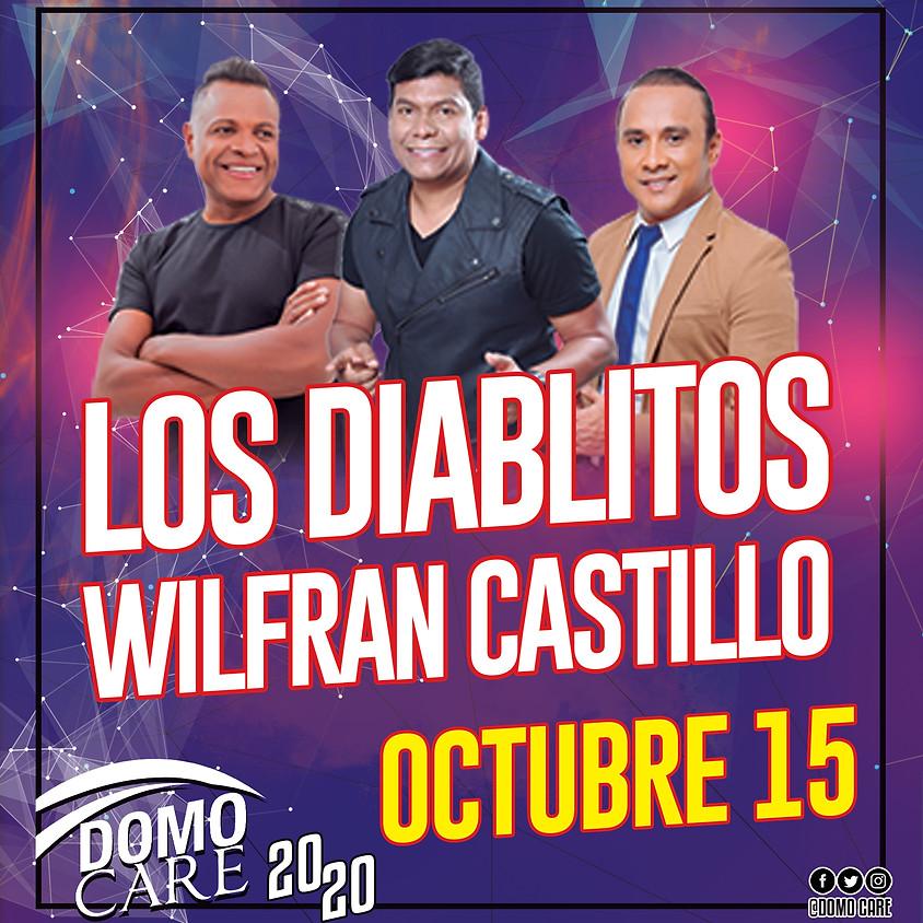 Los Diablitos y Wilfran Castillo