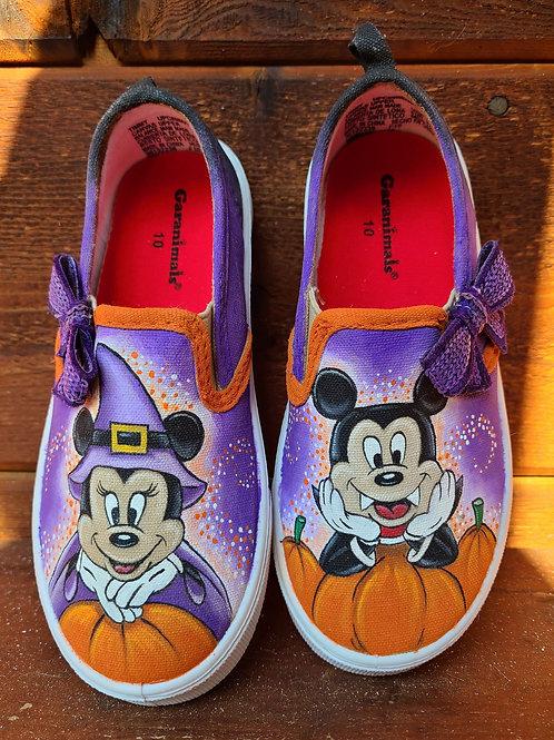 Halloween Minnie & Mickey Shoes
