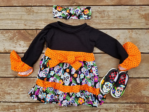 Upcycle Sugar Skull Outfit