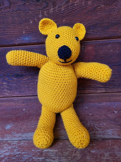 Crochet Yellow Bear