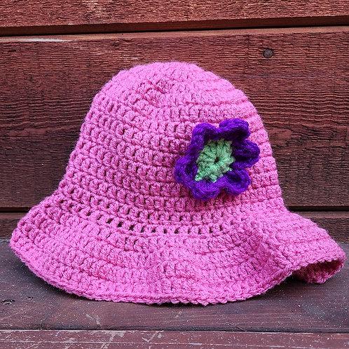 Pink Bucket Hat - kids