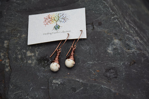 Moonstone Earings