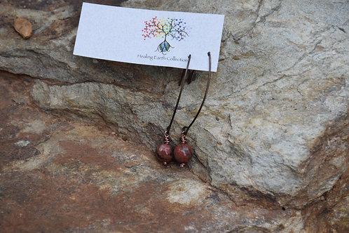 Lepidolite Earings