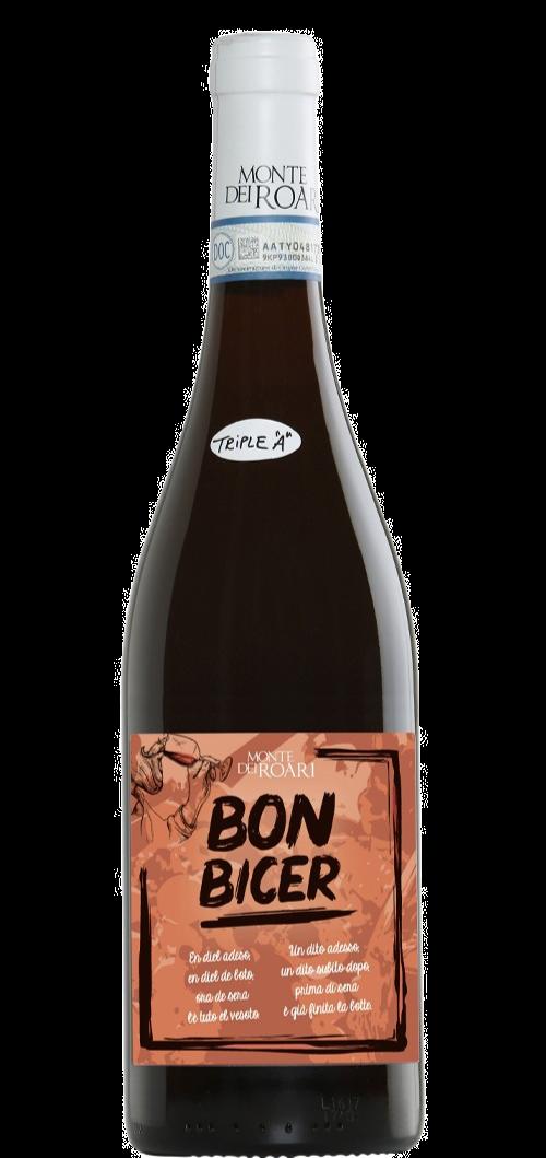 MONTE DEI ROARI (VENETO) - Bon Bicer Rosso 2019 - 60% corvina 40% Rondinella