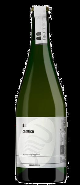 """CASALE CERTOSA (LAZIO) - """"Cosmico"""" vino bianco frizzante - 100% trebbiano"""