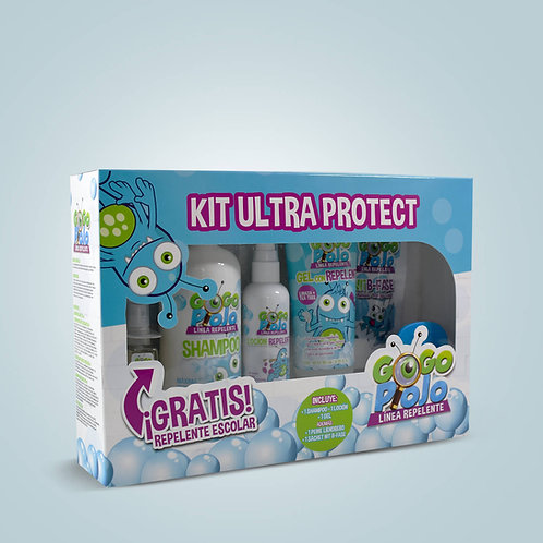 KIT ULTRAPROTECT REPELENTE PARA PIOJOS Y LIENDRES