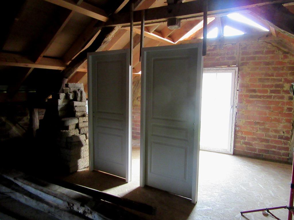 les portes sont posées