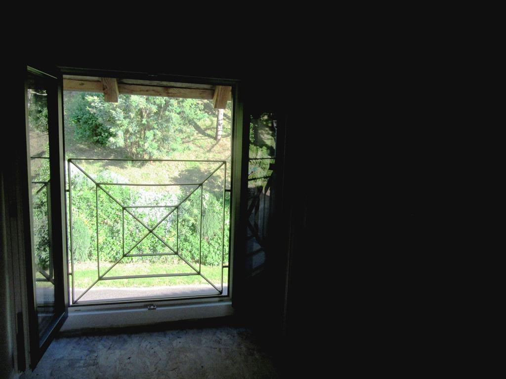 grille de sécurité à l'étage