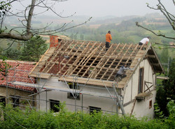 le toit découvert