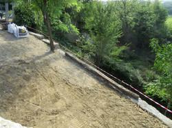 vue de la terrasse...
