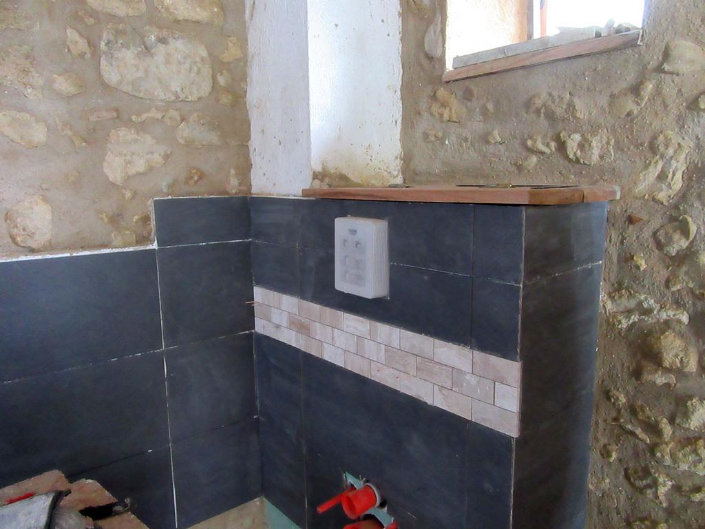 WC salle d'eau rue