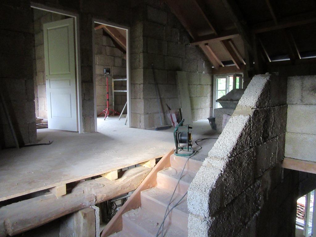 les cloisons en briques de chanvre