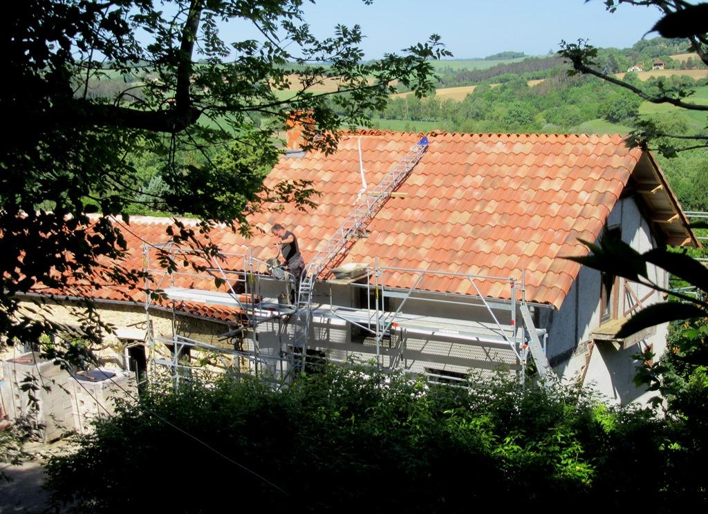 le nouveau toit pesque fini