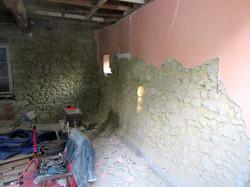 piquer les murs