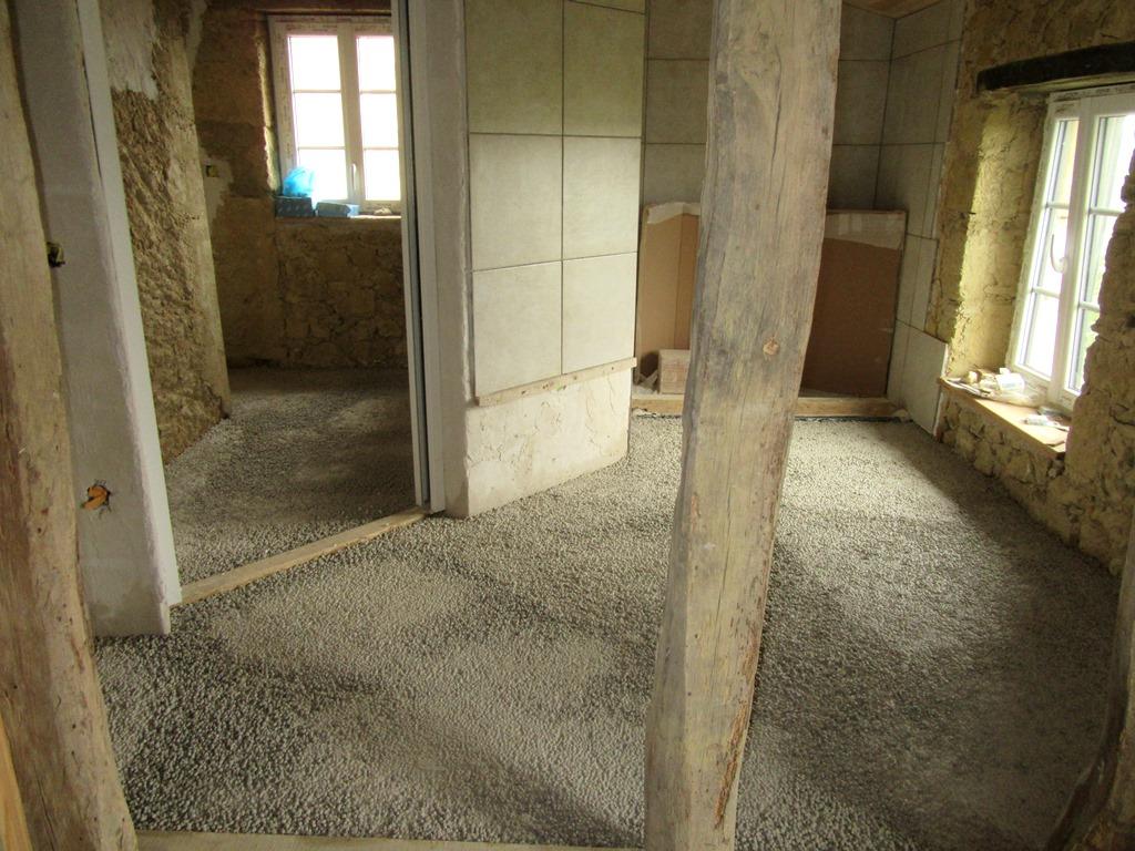 Isolation du sol salle de bain