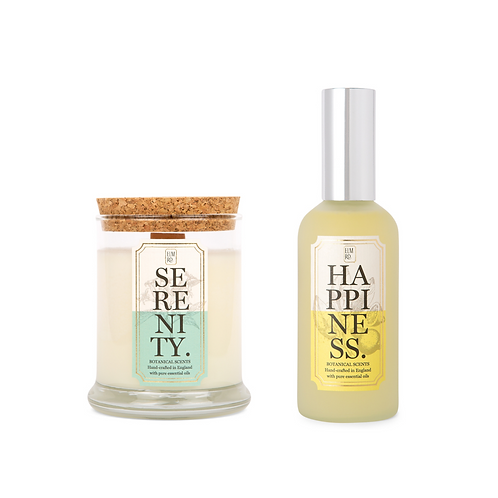 Aromatherapy Candle and Mist Gift Set