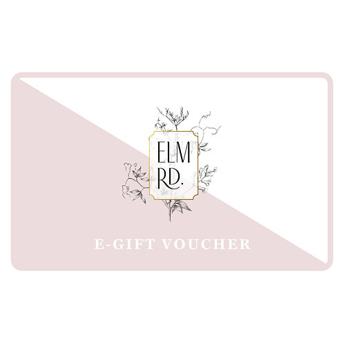 ELM RD. Gift Voucher from