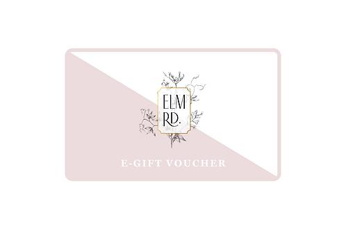 ELM RD. e-Gift Voucher from