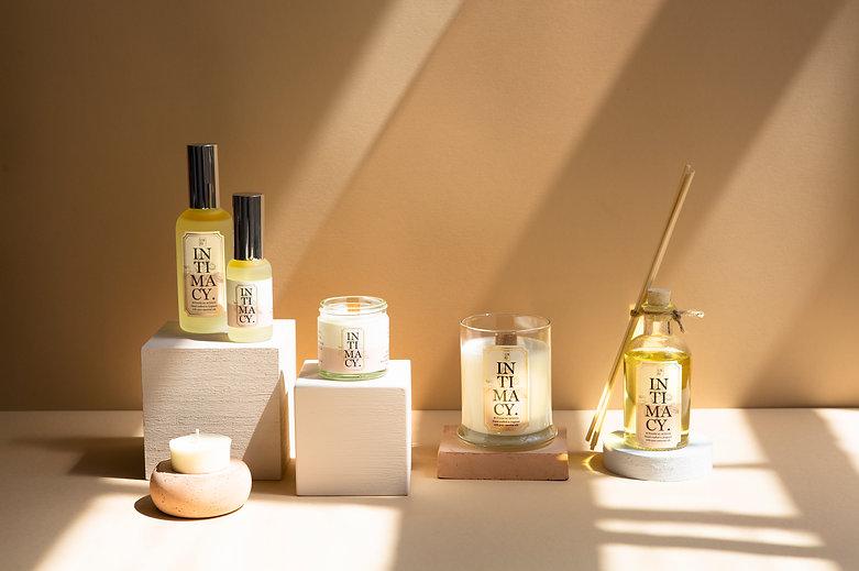 Elm Rd Intimacy scent full range.jpg