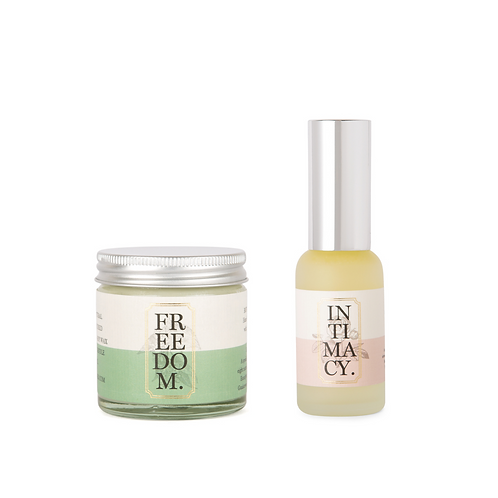 Travel Candle and Mist Aromatherapy Gift Set