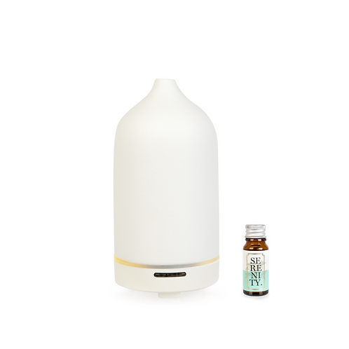 Ceramic Diffuser + Essential Oil Blend