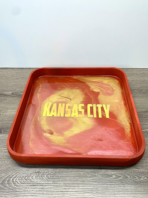 KC Resin Wooden  Tray