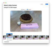 PhotoCatch Video Import